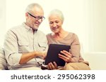 family  technology  age and... | Shutterstock . vector #295062398