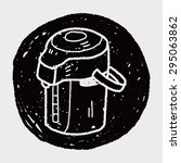 doodle kettle | Shutterstock . vector #295063862