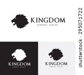 lion vector logo template | Shutterstock .eps vector #295071722