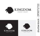 Stock vector lion vector logo template 295071722