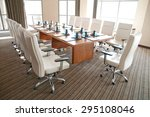 conference room   Shutterstock . vector #295108046