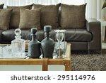 Crystal Drink Set And Sandglas...