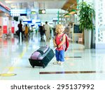 Little Girl With Suitcase...