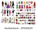 fashion elements for women | Shutterstock .eps vector #29520019