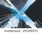 commercial area in hongkong | Shutterstock . vector #295200572