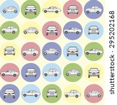 cars pattern | Shutterstock . vector #295202168