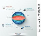 modern infographics options... | Shutterstock .eps vector #295206812