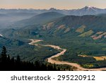 Skagit River Valley. A View Of...