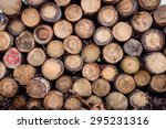 Wood Texture Background With...