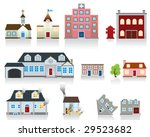 house vector icon | Shutterstock .eps vector #29523682