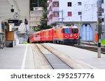 arosa  switzerland   june 07 ... | Shutterstock . vector #295257776