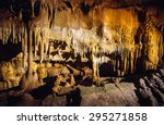 Cave Formations at Mammoth Cave National Park