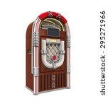 juke box radio | Shutterstock . vector #295271966