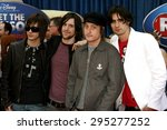 the all american rejects... | Shutterstock . vector #295277252