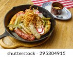 sausages in the bar   Shutterstock . vector #295304915