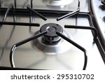 burner gas stove close up | Shutterstock . vector #295310702