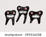 Typographic Retro Grunge Dental ...