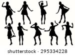 Dancing Women Silhouettes....