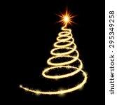 vector new year tree  ...