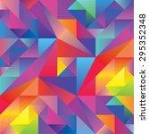 Rainbow Abstract Kaleidoscope