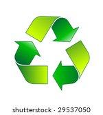 recycle symbol | Shutterstock .eps vector #29537050