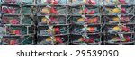 stack of crab traps in... | Shutterstock . vector #29539090