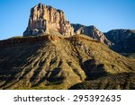 Tall Butte At Guadalupe...