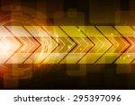sci fi futuristic user interface | Shutterstock . vector #295397096