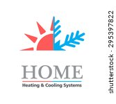 heating   cooling systems... | Shutterstock .eps vector #295397822