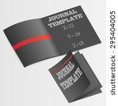 journal template  | Shutterstock . vector #295404005