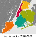 high resolution outline map of... | Shutterstock .eps vector #295405022