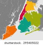 high resolution outline map of... | Shutterstock .eps vector #295405022