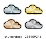 vector internet cloud of... | Shutterstock .eps vector #295409246