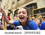 new york city   july 11 2015  a ... | Shutterstock . vector #295455182