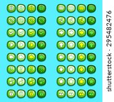 green game icons buttons icons...