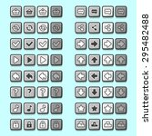 stone game icons buttons icons...
