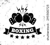 Vintage Logo For A Boxing On...
