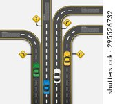 road   street infographic...   Shutterstock .eps vector #295526732