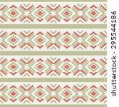 ethnic geometric ornament ...   Shutterstock .eps vector #295544186