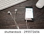 chiangmai  thailand  july 12 ... | Shutterstock . vector #295572656