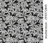 flowers seamless pattern  eps 8 | Shutterstock .eps vector #295572845