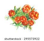 garden flowers budget   Shutterstock . vector #295573922