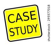 Case Study Black Stamp Text On...