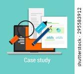 Case Study Studies Icon Flat...
