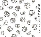 fruits seamless pattern for...   Shutterstock .eps vector #295584632