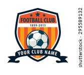 football badge logo template... | Shutterstock .eps vector #295589132