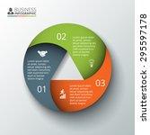 vector circle element for...   Shutterstock .eps vector #295597178