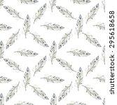 watercolor seamless pattern   Shutterstock . vector #295618658