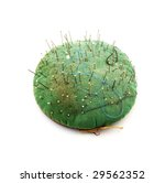 Small photo of Old pin cushion