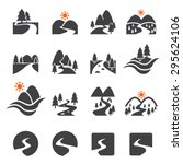 River Icon Set